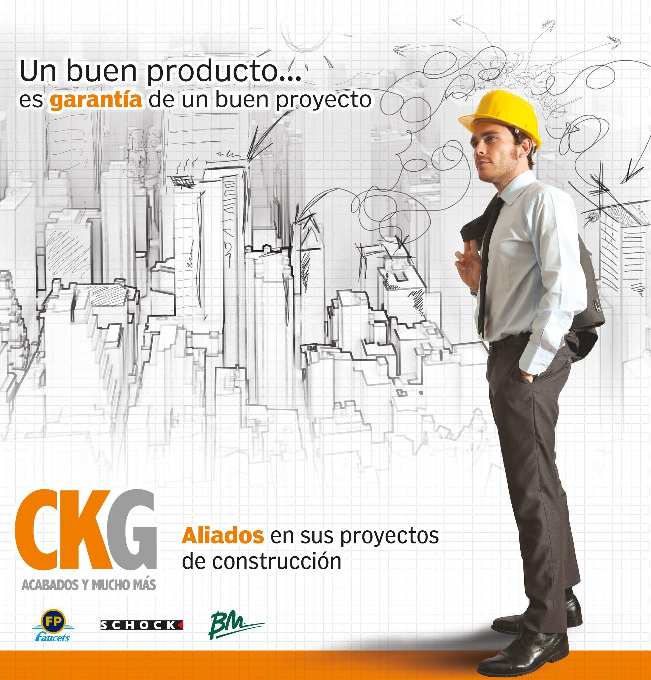 acabados de construcción, CKG Panamá
